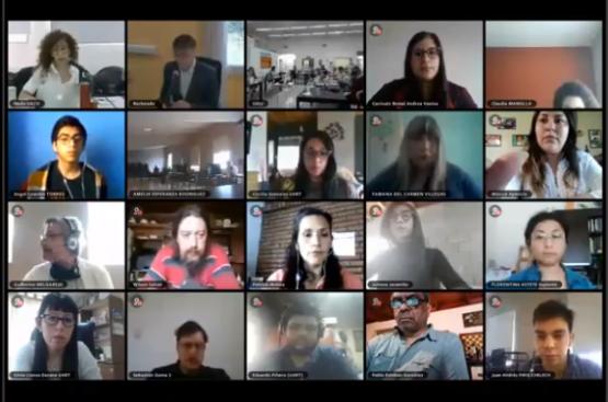 Reunión virtual Consejo Superior de la UNPA