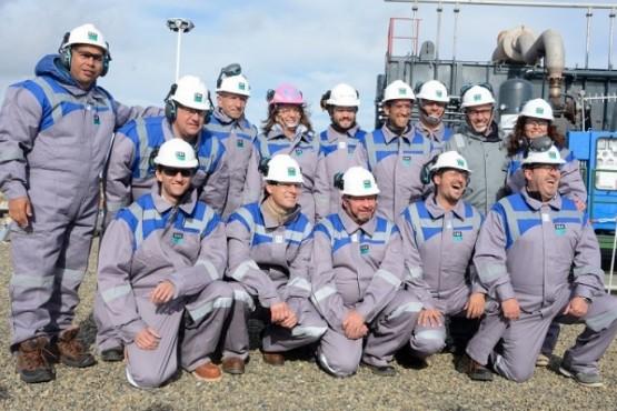 Inauguración Almacenamiento Subterráneo de Gas Sur (Foto Archivo)