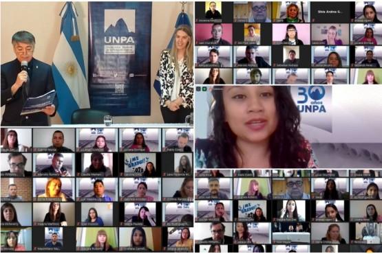 120 Nuevos profesionales se graduaron en la UNPA