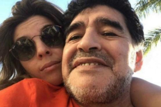 Dalma Maradona volvió a recordar a Diego con una foto retro