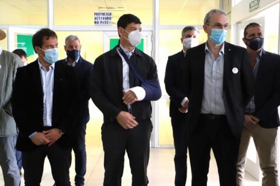 Chubut  Arcioni recibe mañana a Arnaldo Medina para delinear el plan de vacunación contra el Covid 19