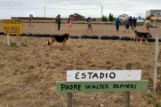 El predio del barrio Padre Olivieri de Río Gallegos sigue en disputa.