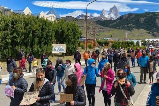 El Chaltén| Comerciantes y artesanos reclamaron reapertura turística