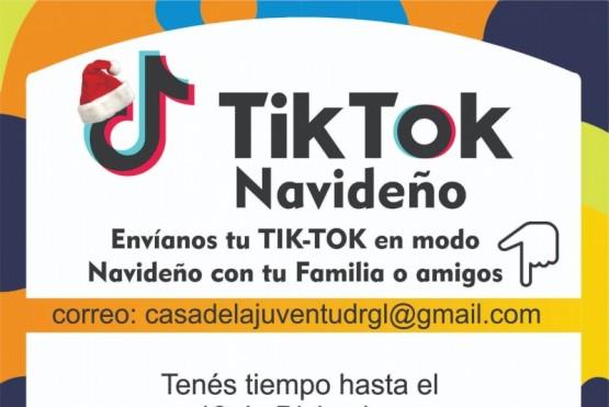 Río Gallegos| Tik Tok navideño en la Casa de la Juventud