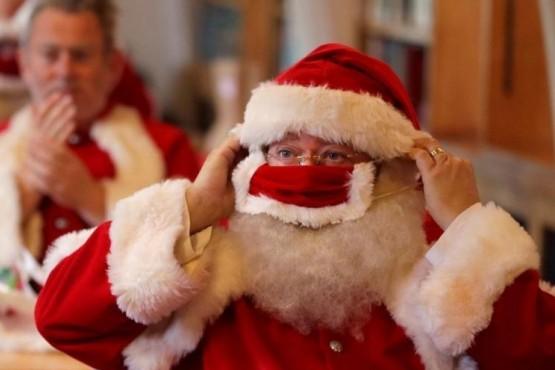 Papá Noel provocó un brote de Covid-19 en un geriátrico