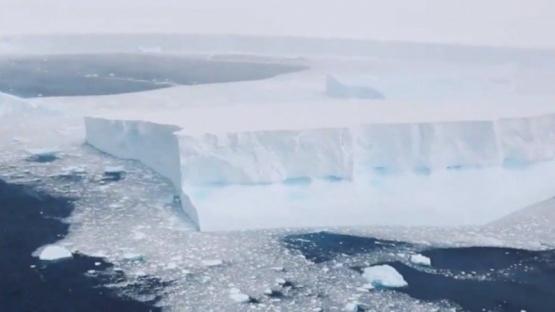 Un gigantesco iceberg está a punto de impactar contra las islas Georgias del Sur