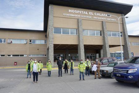 Santa Cruz| El Gobierno articula refuerzo del sistema sanitario de El Calafate