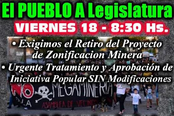 Chubut| Asambleas acusan al poder judicial de