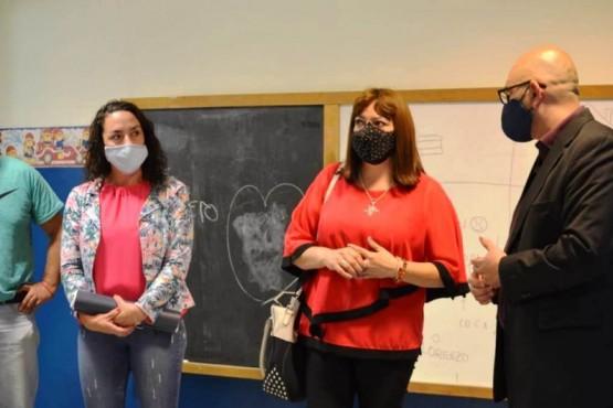 Comodoro Rivadavia| Perata se reunió con cooperativas que realizan mantenimiento en las escuelas