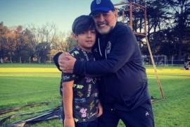 Gianinna Maradona mostró un regalo que Diego le hizo a su nieto Benjamín