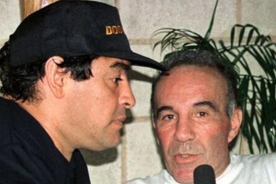 La dramática revelación de Alfredo Cahe sobre Diego Maradona