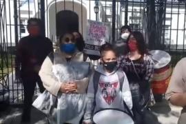 Río Gallegos| Desocupados de Las Heras reclaman por trabajo frente a Casa de Gobierno