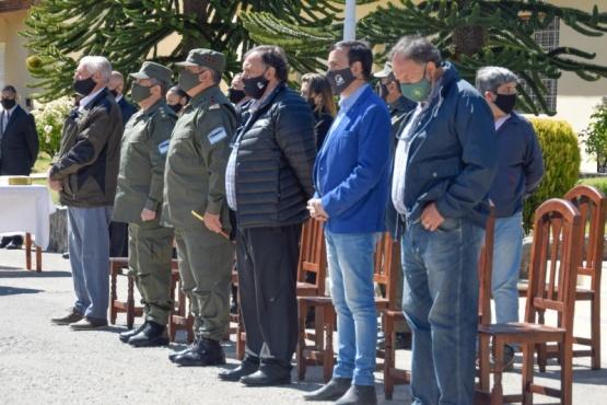El Calafate| Grasso participó de puesta en funciones del nuevo jefe de Gendarmería