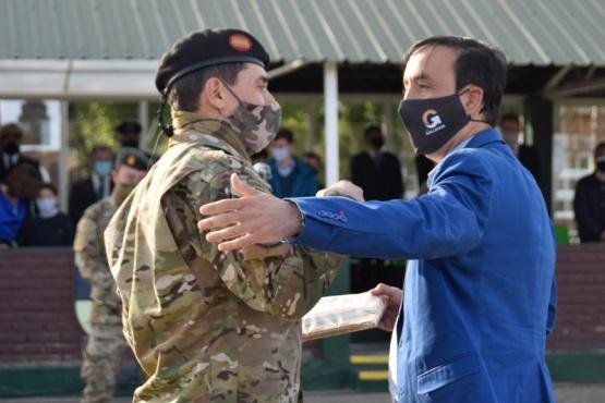 Río Gallegos  Cambio de mando del Comando de la Décima Primera Brigada Mecanizada
