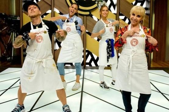 MasterChef: Claudia Villafañe volvió al programa tras la muerte de Maradona y fue ovacionada