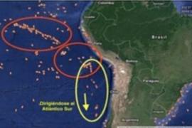 Alerta por un convoy de 300 y 500 buques chinos que se dirigen al Mar Argentino