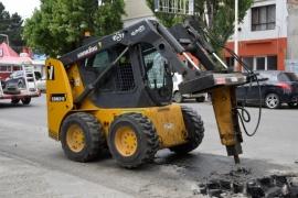 Río Gallegos| Trabajadores municipales avanzan con distintas tareas