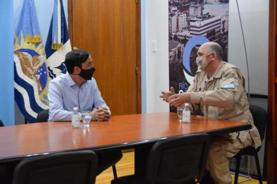 Río Gallegos| El intendente recibió al nuevo jefe de la Prefectura Zona Mar Argentino Sur