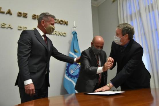 Arcioni delegó el mando al vicegobernador Sastre