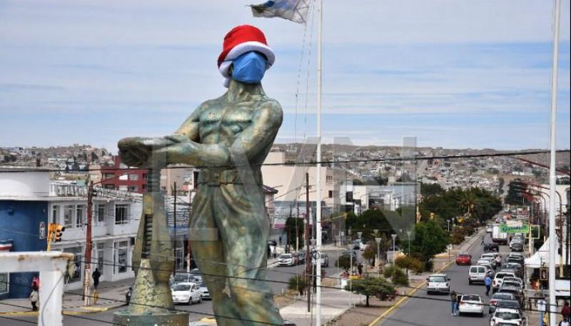 Gorosito navideño y en pandemia.