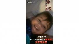 """El """"milagro navideño"""" de Jorge Rial, Romina Pereiro y Morena"""
