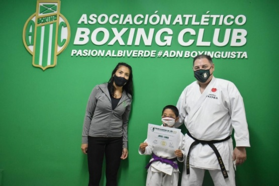 El karate tuvo sus premiados.  GARGA.JPG