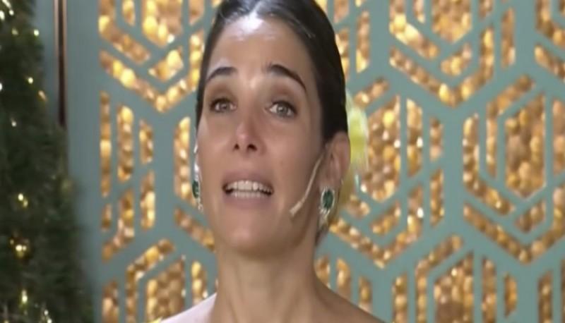 Juana Viale se quebró en vivo con una carta de su hermano Nacho