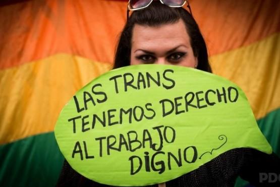 El cupo laboral trans busca ser ley nacional
