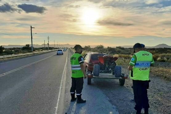 Chubut| La APSV retiró de la vía pública a 14 conductores por intoxicación