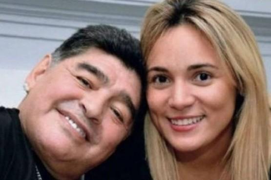 Rocío Oliva confesó una experiencia paranormal que vivió con Diego Maradona