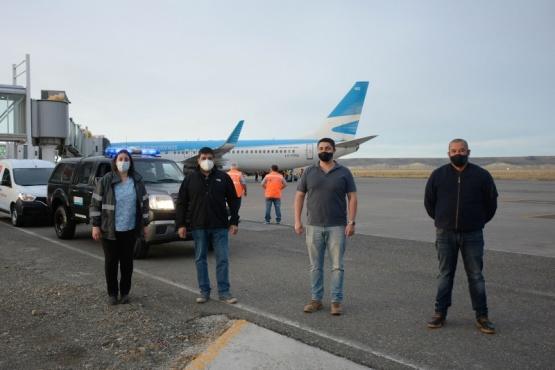 Sputnik V en Santa Cruz: La logística
