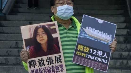 Prisión a la abogada china que hizo una cobertura periodística sobre el coronavirus