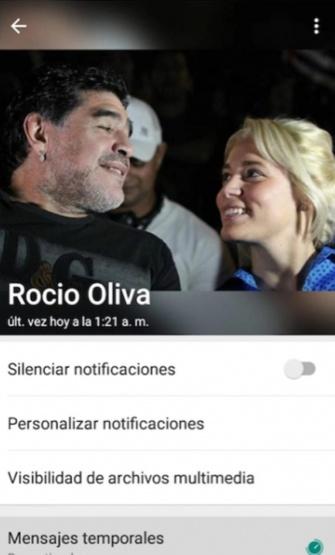 Rocio y Diego.