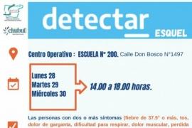 Esquel| Nuevas jornadas de DetectAR