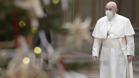 El Papa antes de la sesión del aborto: