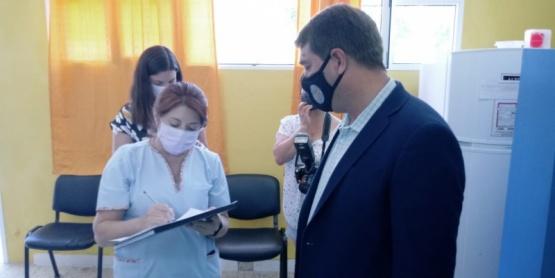 Rawson| El intendente Biss se aplicó la vacuna Sputnik V