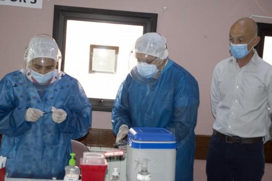 Caleta Olivia| La campaña de vacunación contra el Covid-19 es una realidad