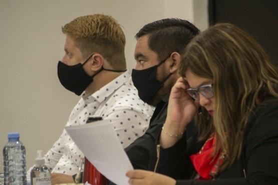 Río Gallegos| Diego Robles se reunió con concejales por presupuesto y tarifaria