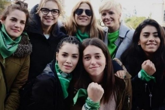 Los mensajes de los famosos por la legalización del aborto en la Argentina