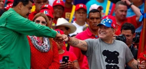 Iúdica reveló información sobre los negocios de Diego Maradona con Venezuela
