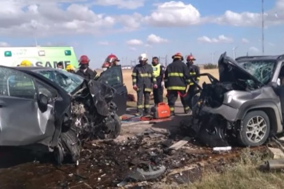 Choque fatal: Falleció una mujer de Río Gallegos y una familia de Comodoro Rivadavia