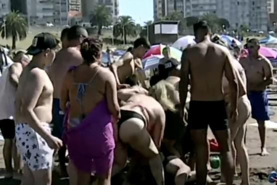 Un picadito terminó en batalla campal en Mar del Plata