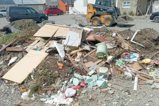 Limpieza de basurales urbanos.