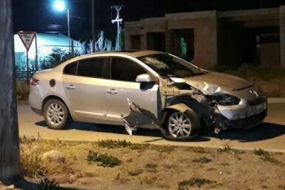 Río Gallegos| Abandonó a su mujer embarazada tras colisionar
