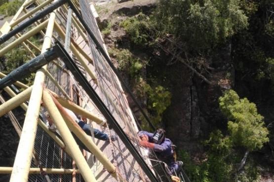 Durante el 2020, el Gobierno del Chubut avanzó en la ejecución de obras en Comunas Rurales
