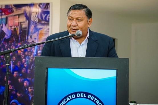 Jorge Ávila, Secretario General del Sindicato del Petróleo y Gas Privado del Chubut.