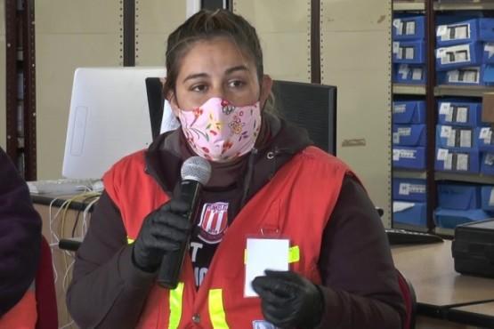 Vanesa Ramírez, jefa de Operaciones Protección Civil