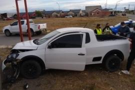Río Gallegos| Quiso evitar una colisión y terminó chocando
