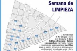 Río Gallegos| Municipio inició un nuevo operativo integral de limpieza en el barrio Evita