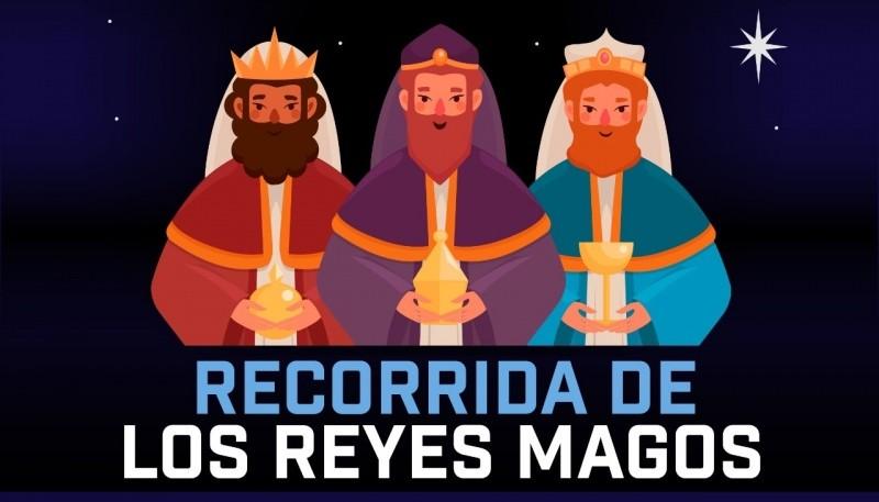 Río Gallegos| Los Reyes Magos mañana recorrerán plazas y parques de la ciudad